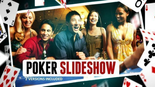 Poker Gambling Cards Slideshow