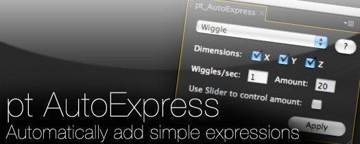 pt_AutoExpress скрипт для АЕ