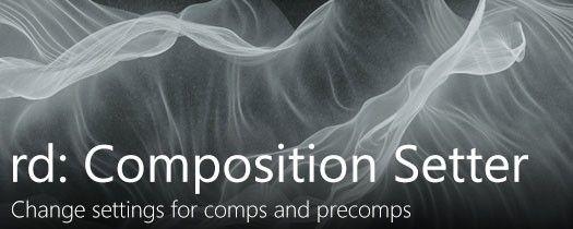 Скрипт для АЕ rd: Comp Setter