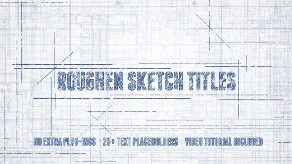 Roughen Sketch Titles