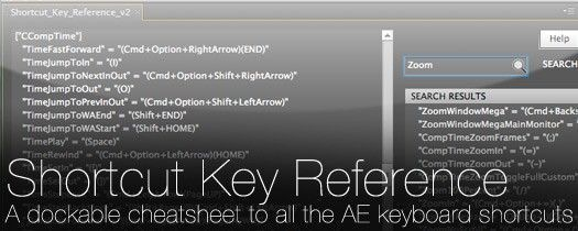 Shortcut Key Reference