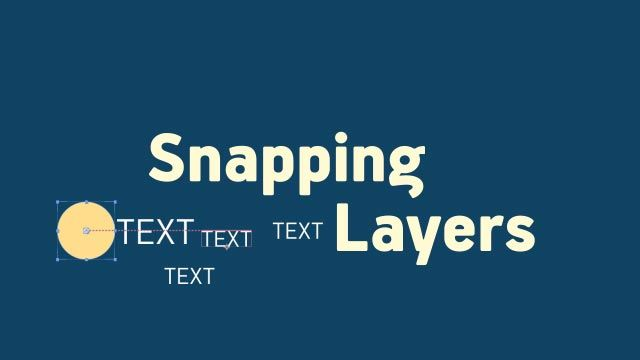 Snapping Layers в After Effects