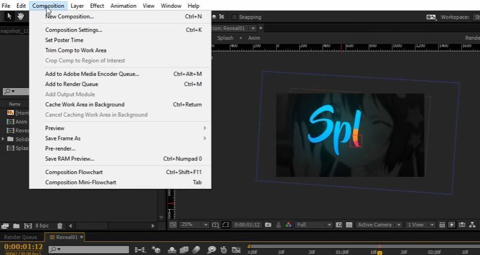 Создание текстовой анимации