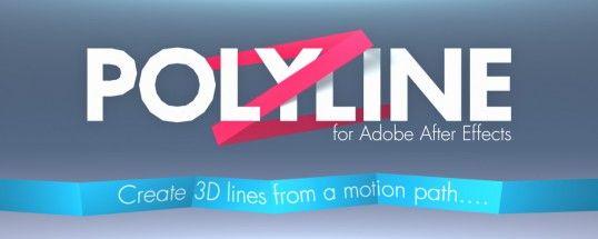 Polyline плагин для After Effects