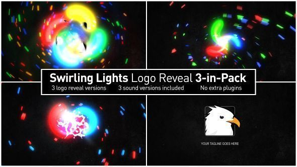 Swirling Lights Intro 3-in-Pack