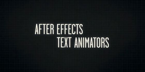 Создание и разбор текстовой анимации в After Effects