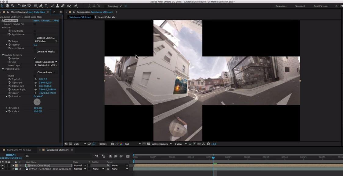 Планарный трекинг для 360 видео