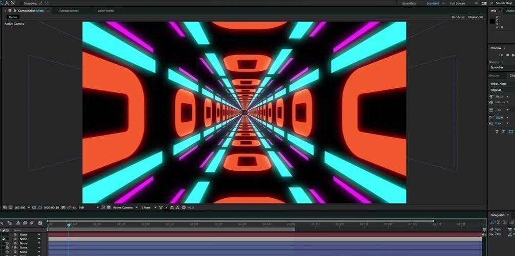 Создание VJ Loop бекграунда в After Effects